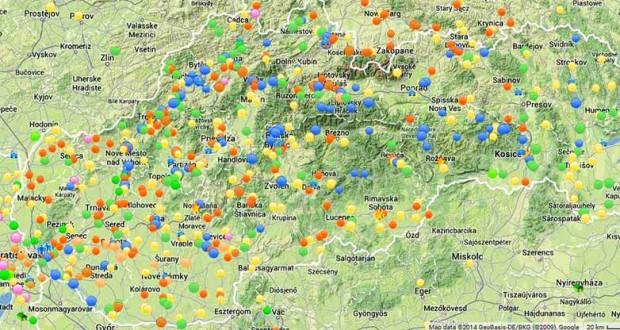 Energetická mapa Slovenska na podporu OZE