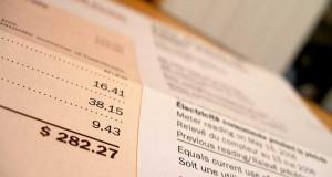 cena elektriny vo výpise